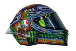 Valentino Rossi Casco AGV Pista GP R test 01