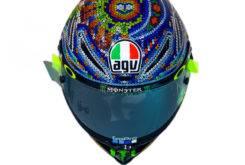 Valentino Rossi Casco AGV Pista GP R test 02