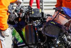 Valentino Rossi caida Test Valencia MotoGP 2018 11