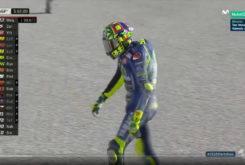 Valentino Rossi caida Test Valencia MotoGP 2018 14