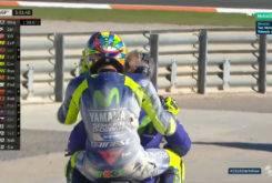 Valentino Rossi caida Test Valencia MotoGP 2018 17