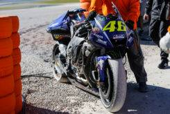 Valentino Rossi caida Test Valencia MotoGP 2018 2