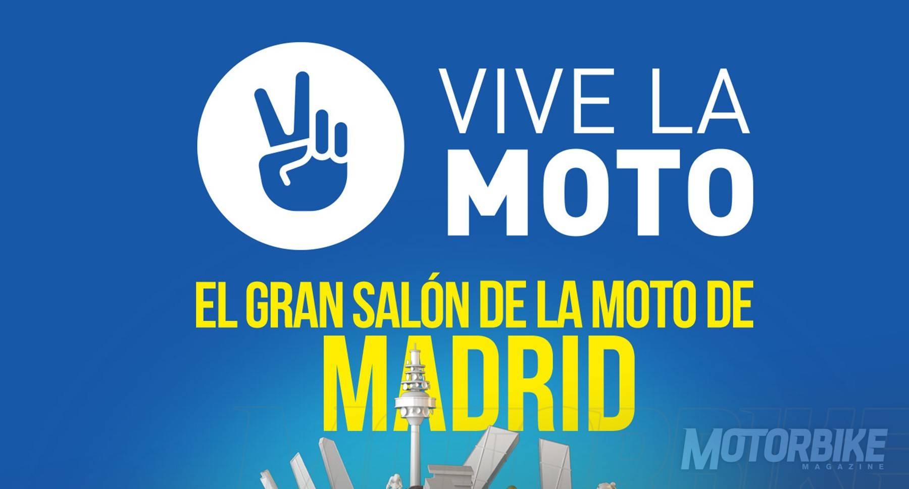 Vive la moto 2018 nuevo sal n de la moto en madrid for Salon de la moto 2018