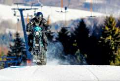 Harley Davidson Sportster Roadster de nieve Banka Bystrica 02