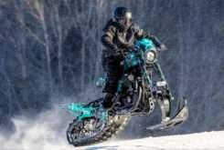 Harley Davidson Sportster Roadster de nieve Banka Bystrica 08