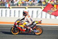 Marc Marquez bandera celebracion MotoGP