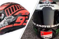 Cascos Test Sepang MotoGP 2018