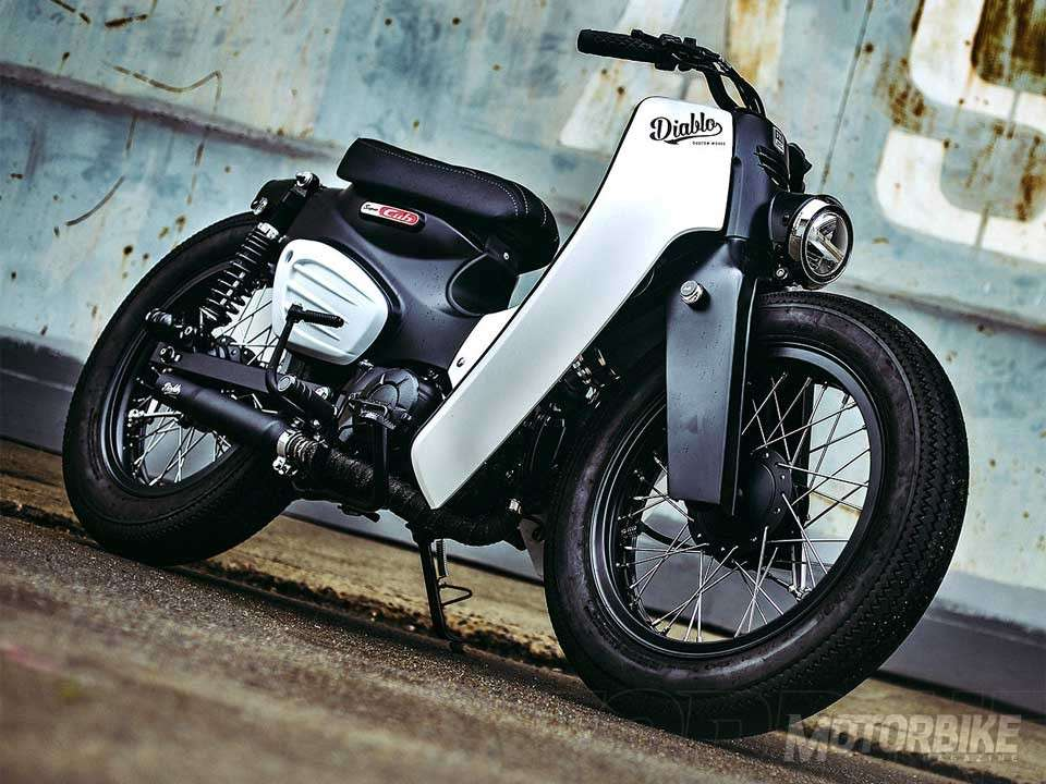 Nueva Honda Forza 300 2018 >> Honda 'Super Power Cub', por K-Speed - Motorbike Magazine