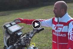 Jonathan Barragan Dakar roadbook 10