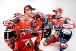 Jorge Lorenzo Andrea Dovizioso Ducati MotoGP 2018 21