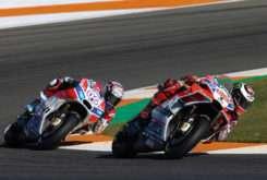 Jorge Lorenzo Andrea Dovizioso Ducati MotoGP 2018