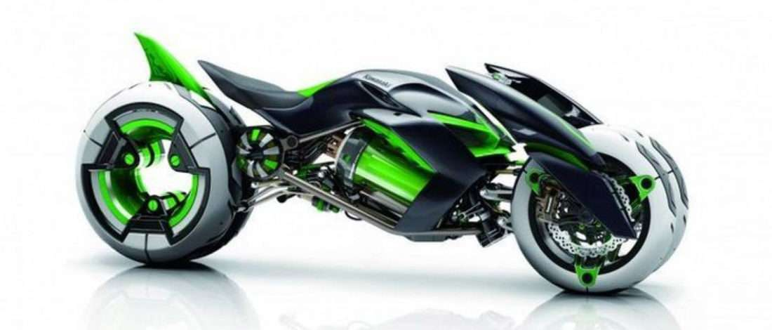 Oficial: ¡Kawasaki lanzará una moto de 4 ruedas! Motorbike
