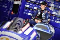 Maverick Vinales MotoGP 2018 Test Sepang box