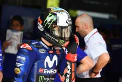Maverick Vinales MotoGP 2018 Test Sepang box 01