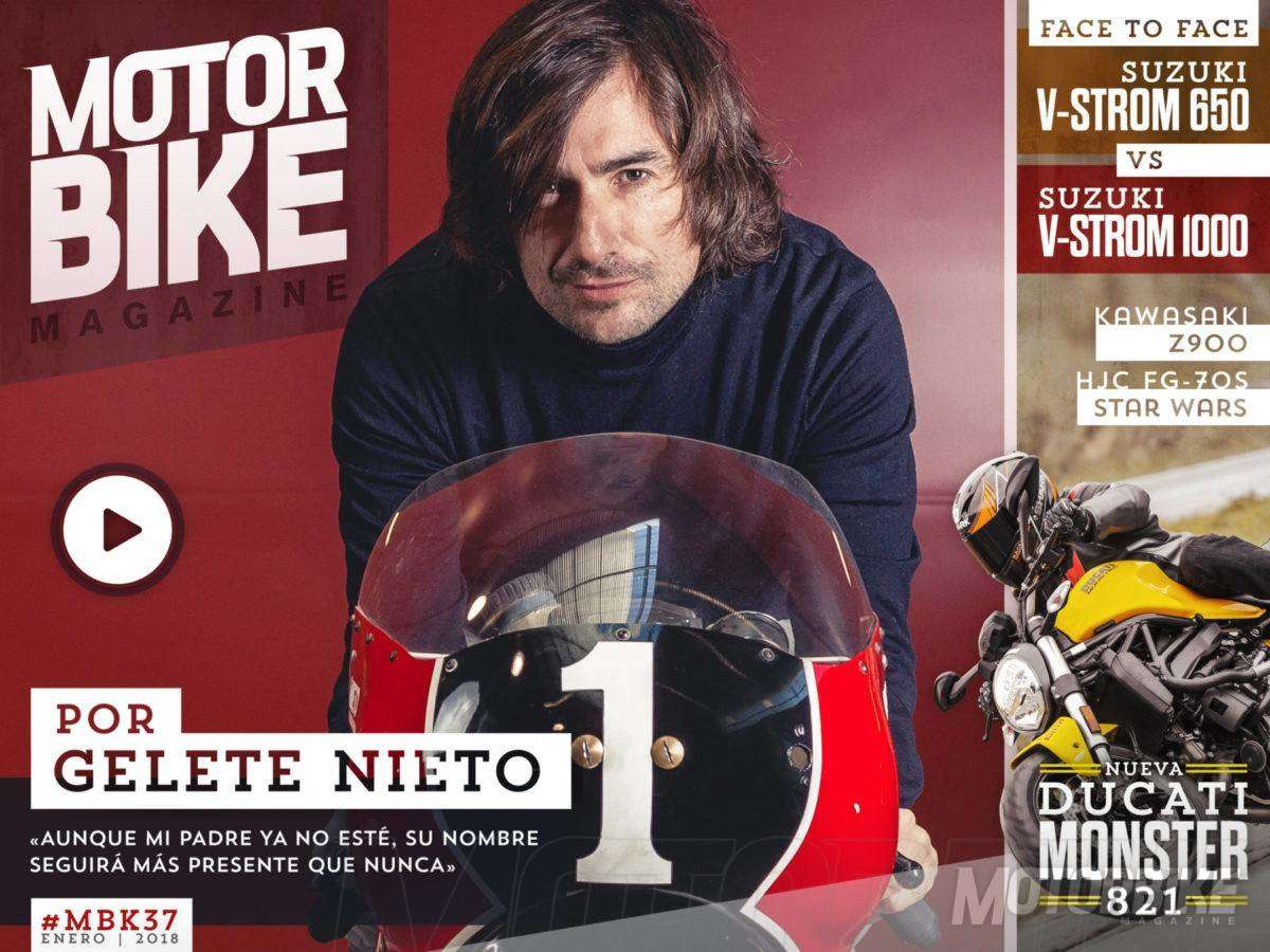 Portada Motorbike Magazine 37: Gelete Nieto