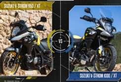 Suzuki V Strom 650 1000 face to face MBK37