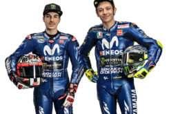 Valentino Rossi Maverick Viñales Yamaha MotoGP 2018 03