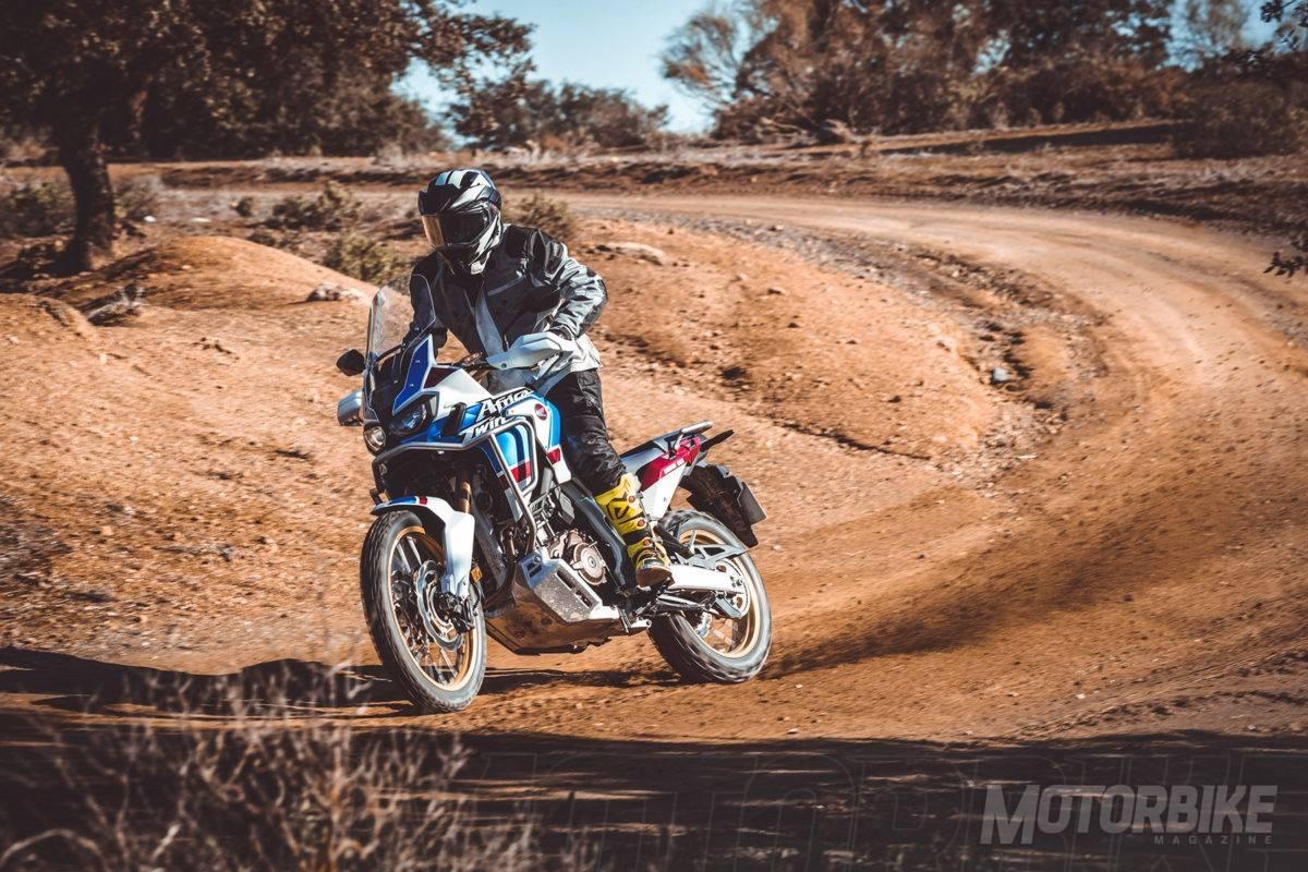 Honda Africa Twin Adventure Sports Pruebambk X on Primera Moto Honda