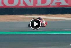 Marc Marquez caida Test Tailandia MotoGP 2018 01
