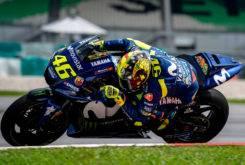 Valentino Rossi Test Sepang 2018 Casco Soleluna 1