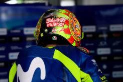 Valentino Rossi Test Sepang 2018 Casco Soleluna 3