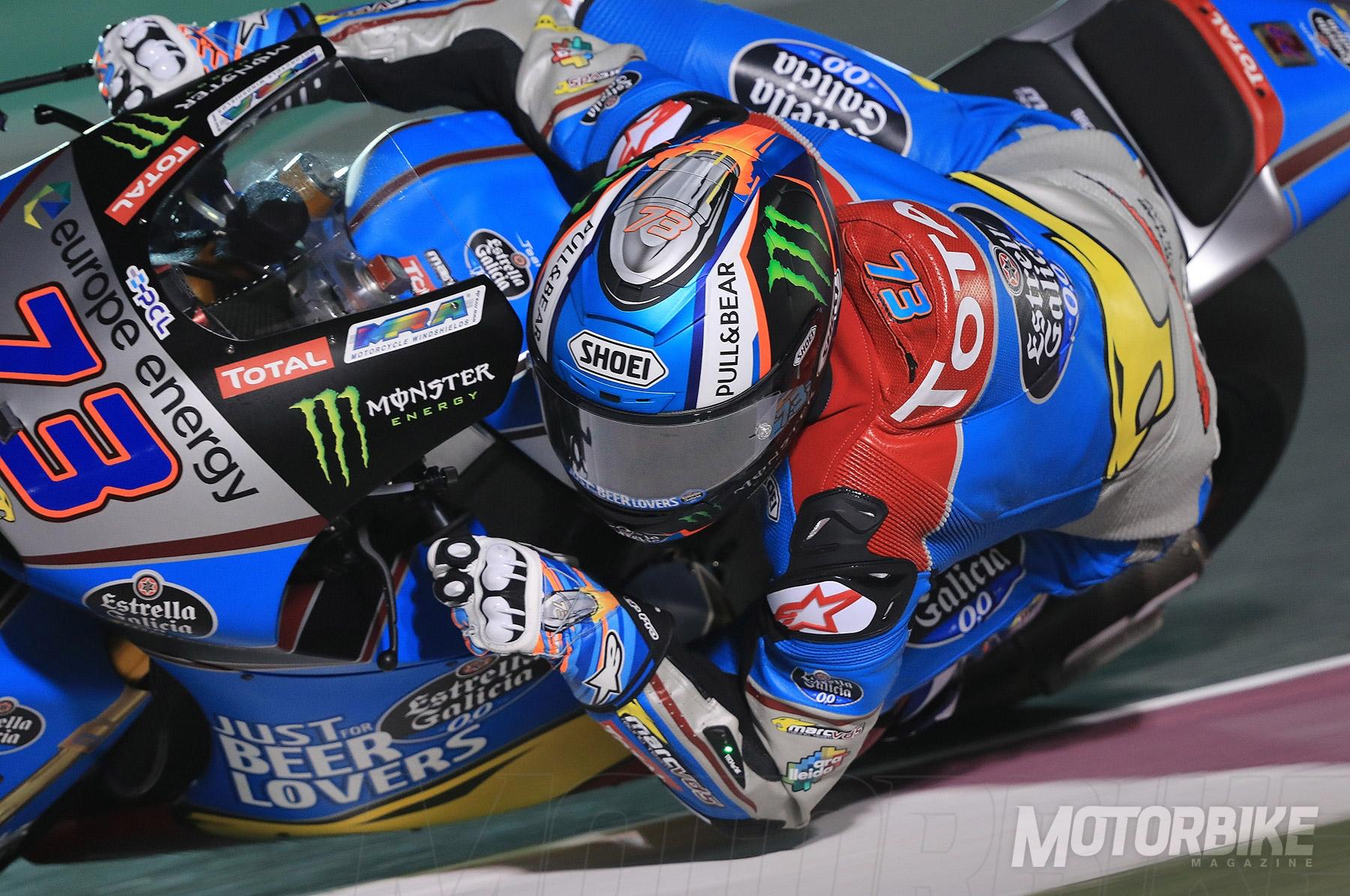 GP Qatar Moto2 2018: Álex Márquez se apunta la primera pole del año