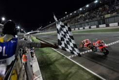 Andrea Dovizioso vs Marc Marquez GP Qatar 2018