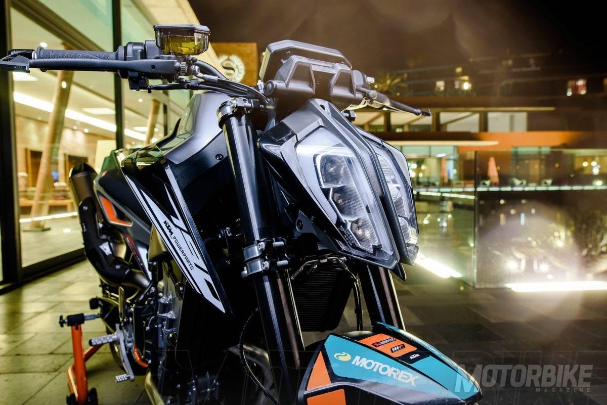 ktm 790 duke 2018 power parts 3 motorbike magazine. Black Bedroom Furniture Sets. Home Design Ideas