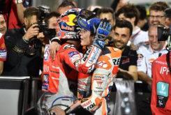 Marc Marquez Andrea Dovizioso GP Qatar MotoGP 2018