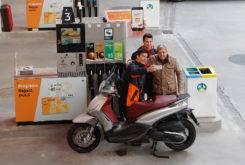 Marc Marquez Dani Pedrosa camara oculta gasolinera 02