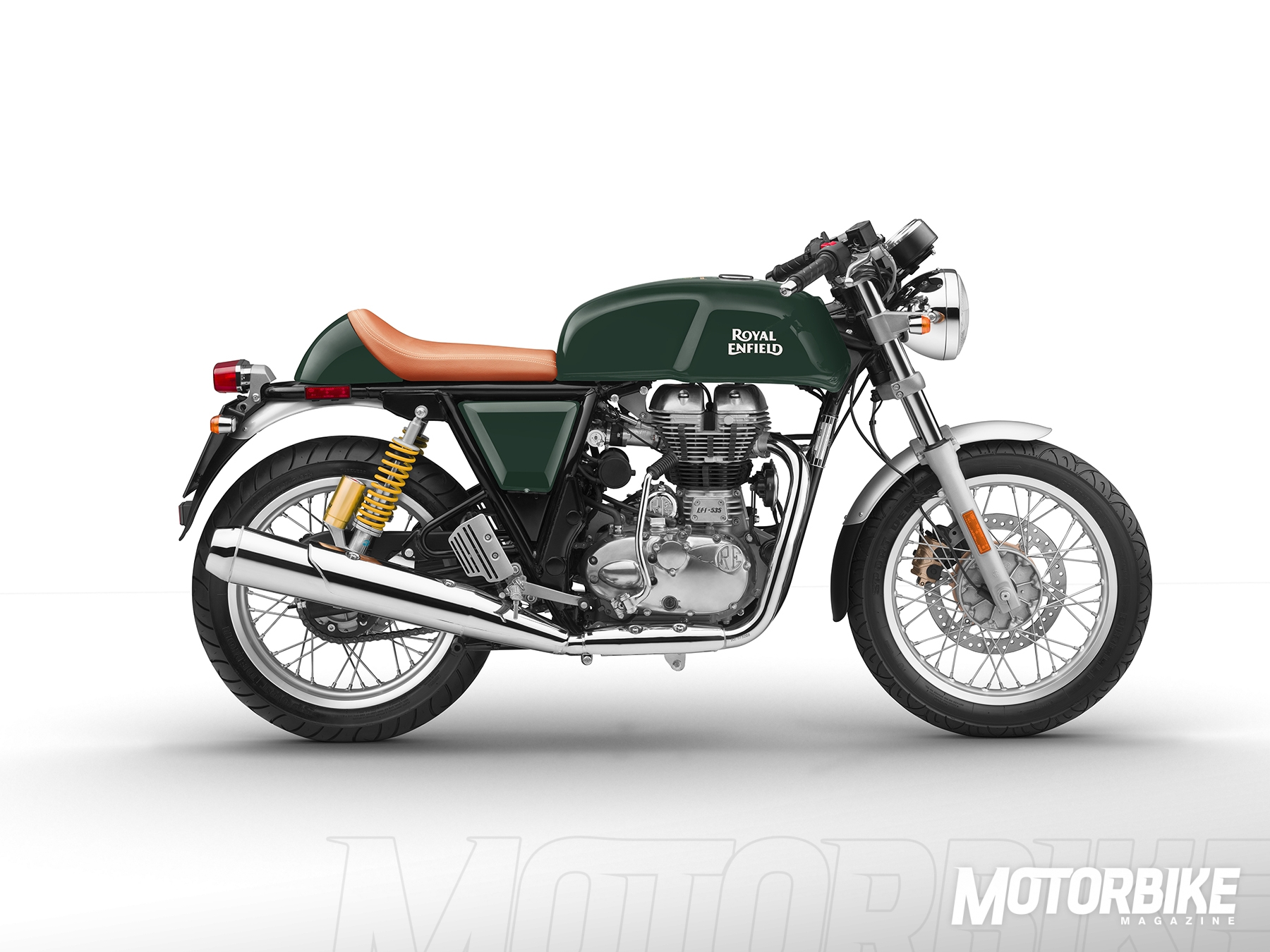 royal enfield continental gt 535 con chaqueta de regalo motorbike magazine. Black Bedroom Furniture Sets. Home Design Ideas