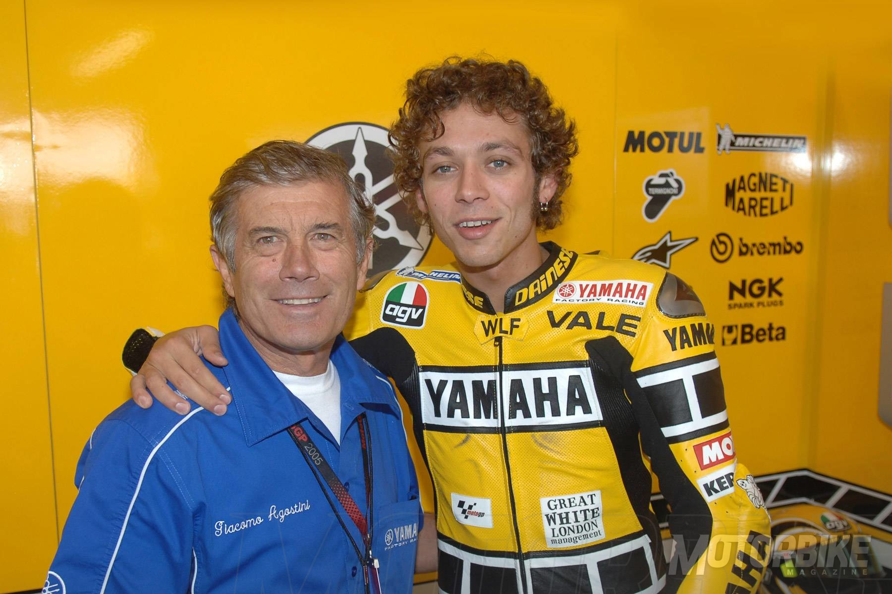Giacomo Agostini Si Rossi Tiene Miedo Que Trabaje En El Banco Motorbike Magazine