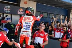 Jorge Lorenzo podio Ducati