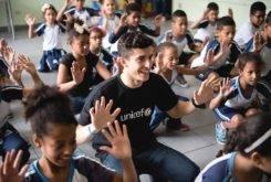Marc Marquez Escuela Brasil UNICEF 3