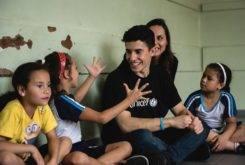 Marc Marquez Escuela Brasil UNICEF 4