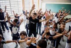 Marc Marquez Escuela Brasil UNICEF 6