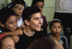 Marc Marquez Escuela Brasil UNICEF 7