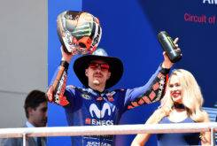 Maverick Vinales podio MotoGP Austin 2018