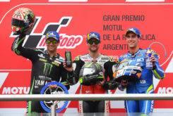 Podio carrera MotoGP Argentina 2018