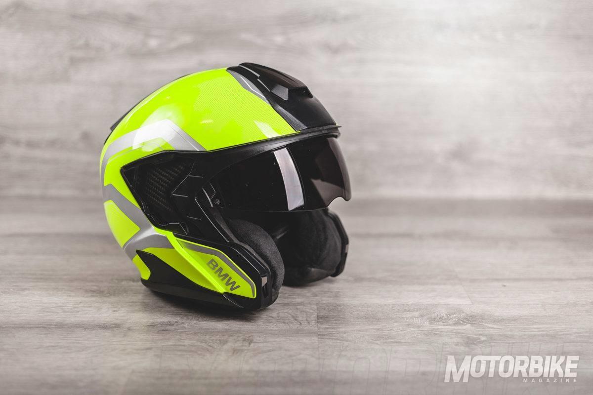 bmw system 7 carbon nuevo casco modular motorbike magazine. Black Bedroom Furniture Sets. Home Design Ideas