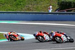 Caida Pedrosa Lorenzo Dovizioso MotoGP Jerez 20181