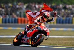Marc Marquez Carrera MotoGP LeMans 2018