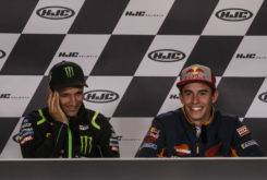 Marc Marquez rueda prensa GP Francia 2018