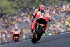 Marc Marquez Dani Pedrosa MotoGP Le Mans