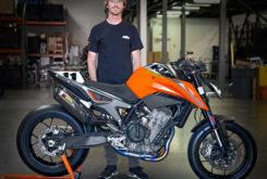Chris Fillmore KTM 790 Duke 2018