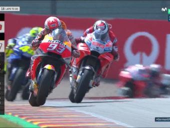 Carrera MotoGP Alemania 2018 13.18.29