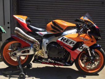 Honda CBR1000RR 2007 RC211V Nicky Hayden 02