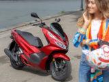 Honda PCX 125 2019 pruebaMBK78