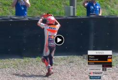 Marquez homenaje Pedrosa MotoGP Sachsenring 2018 01