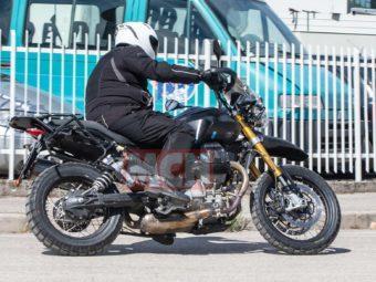 Moto Guzzi V85 bikeleaks espia 01